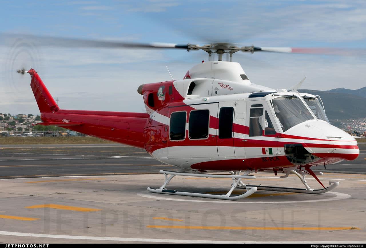 aeronaves - Aeronaves  Matriculas  XC-  ( Por Estados) Hidalgo_bell_412_EP_XC_PCA