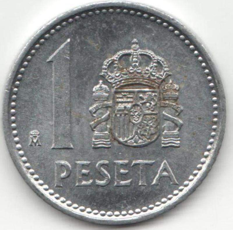 1 Peseta  1987. Juan Carlos I. REVERSO_1_PESETA