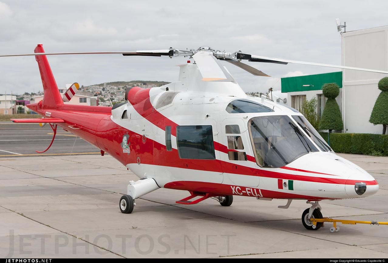 Aeronaves  Matriculas  XC-  ( Por Estados) Hidalgo_Agusta_A109_K2_XCFUJ