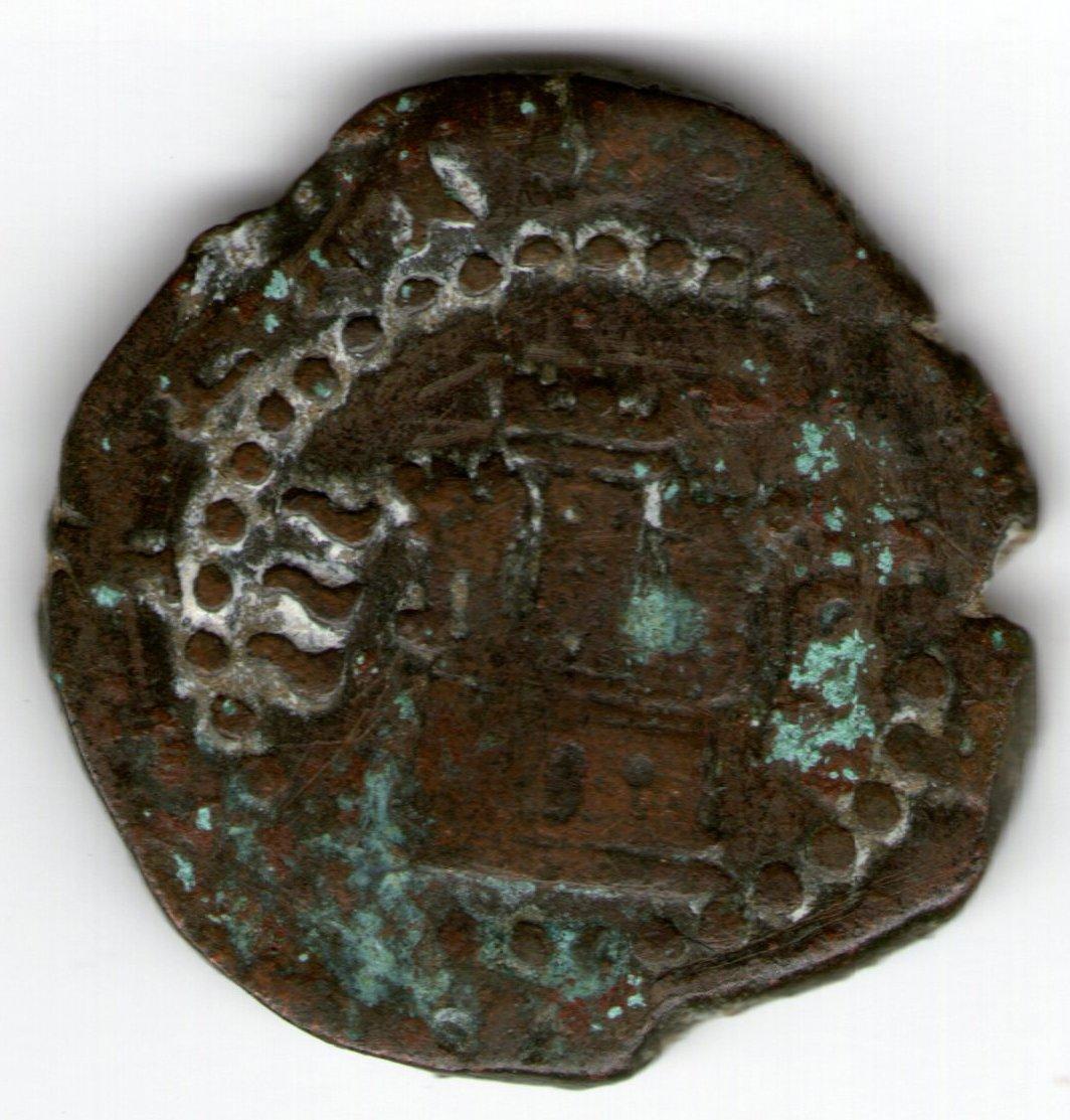 2 maravedís. Felipe II. Valladolid Smg_699a