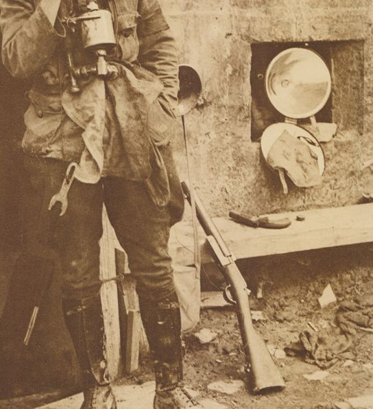Fusil Mle. 1874 transformé comme lance fusées (pas le système Chobert je crois) Lancefusee