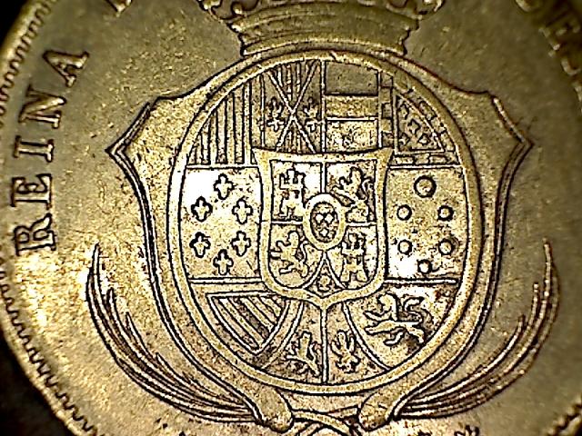 100 reales 1859 Isabel II - Barcelona 14022302554651749416