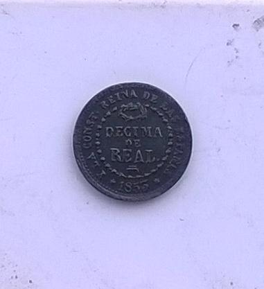 Décima de real 1853, Isabel II WP_20141109_022