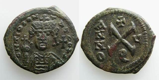 Denominación de las monedas de Bizancio. 1ª parte X_nummi
