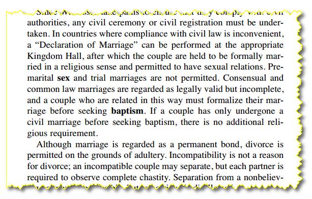 Les Absurdités du christianisme des Témoins de jéhovah MARIAGE_TJ2
