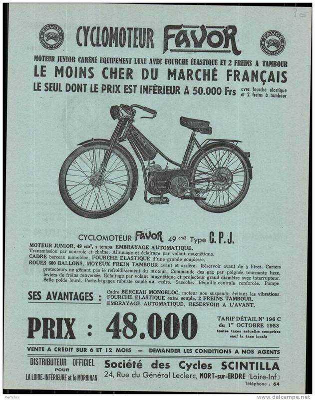 """Tandem Scintilla """"type course"""" (mixte 1935) 849_001"""