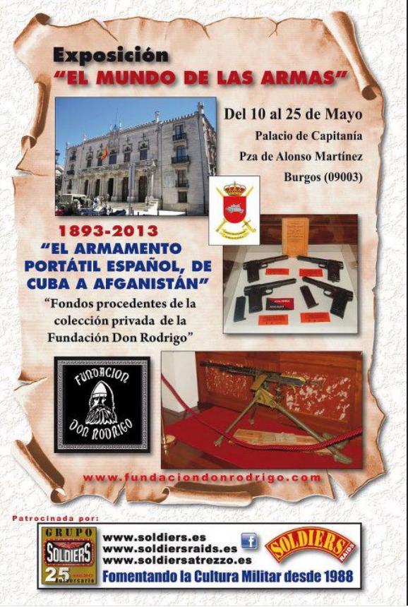"""Exposición """"EL MUNDO DE LAS ARMAS"""", Burgos, 10-25 Mayo 2013. Screenshot_100"""