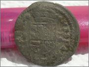 16 maravedís 1664. Felipe IV, Trujillo SAM_3415