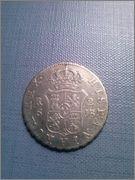 2 reales 1828 Fernando VII,Sevilla,JB CAM00813