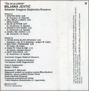 Biljana Jevtic  - Diskografija  1992_z