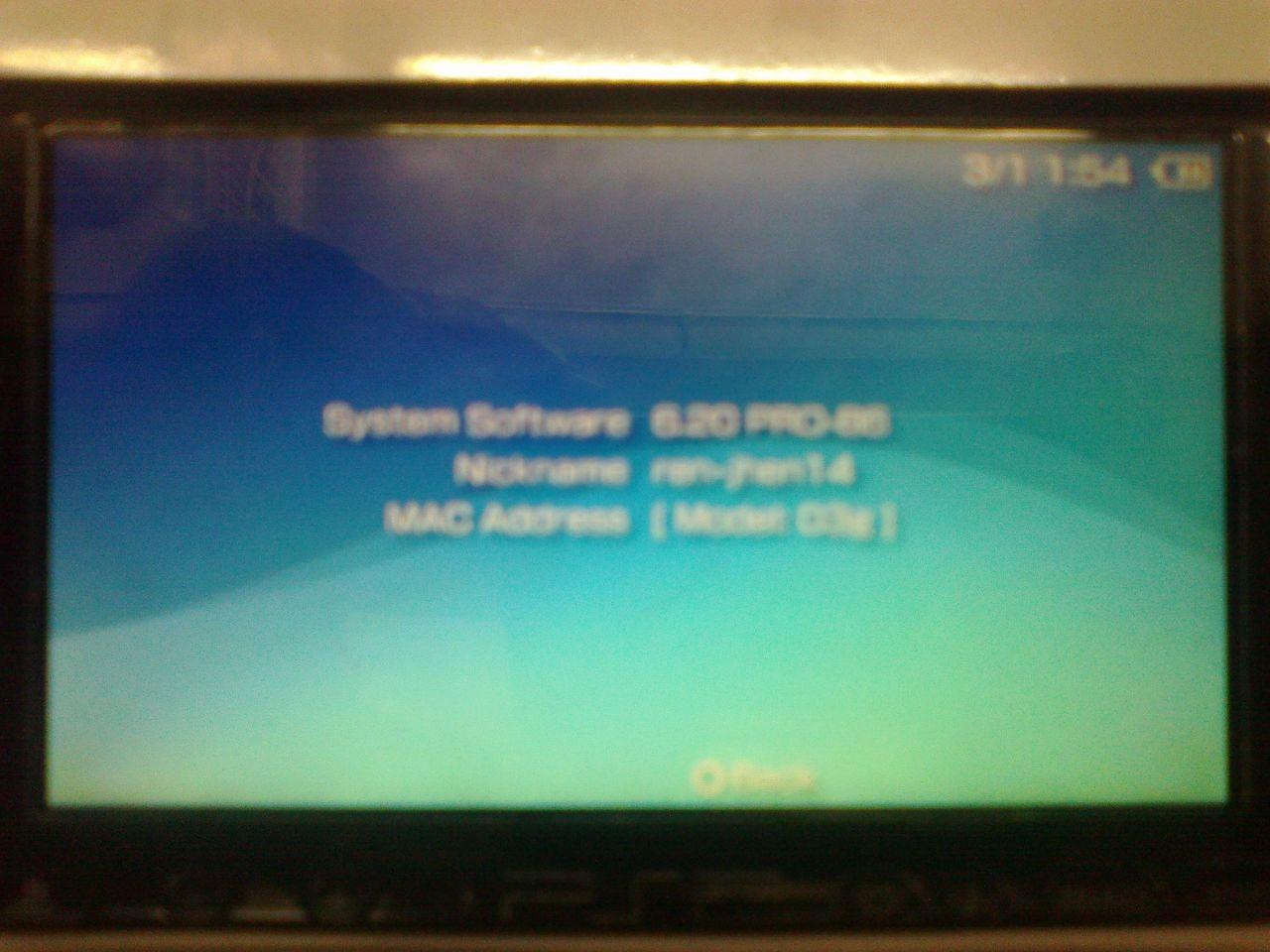 PSP slim model 3000 modify done 100220101256