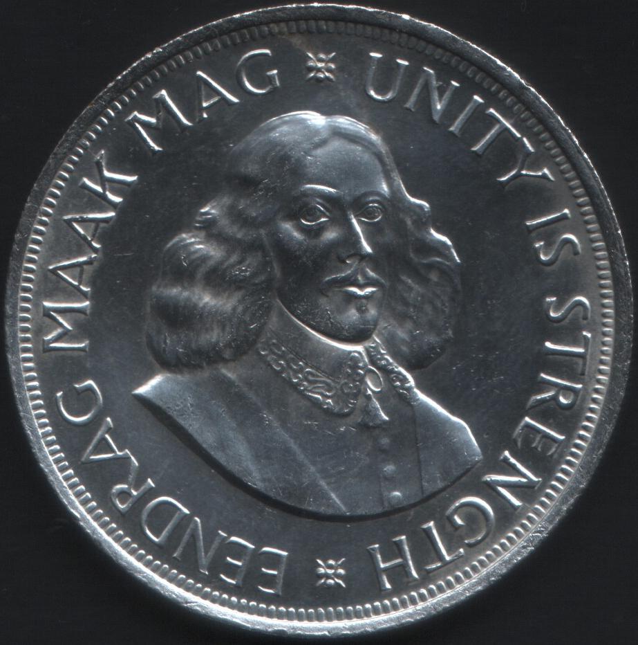50 centavos africa del sur 1 1963