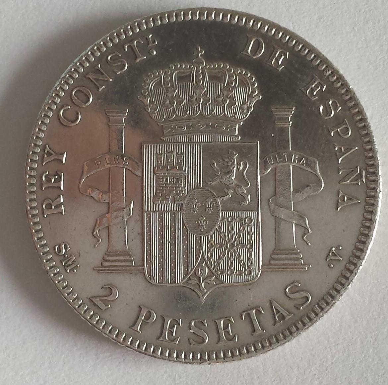 2 Pesetas Alfonso XII 1905 SM-V 20141122_152745
