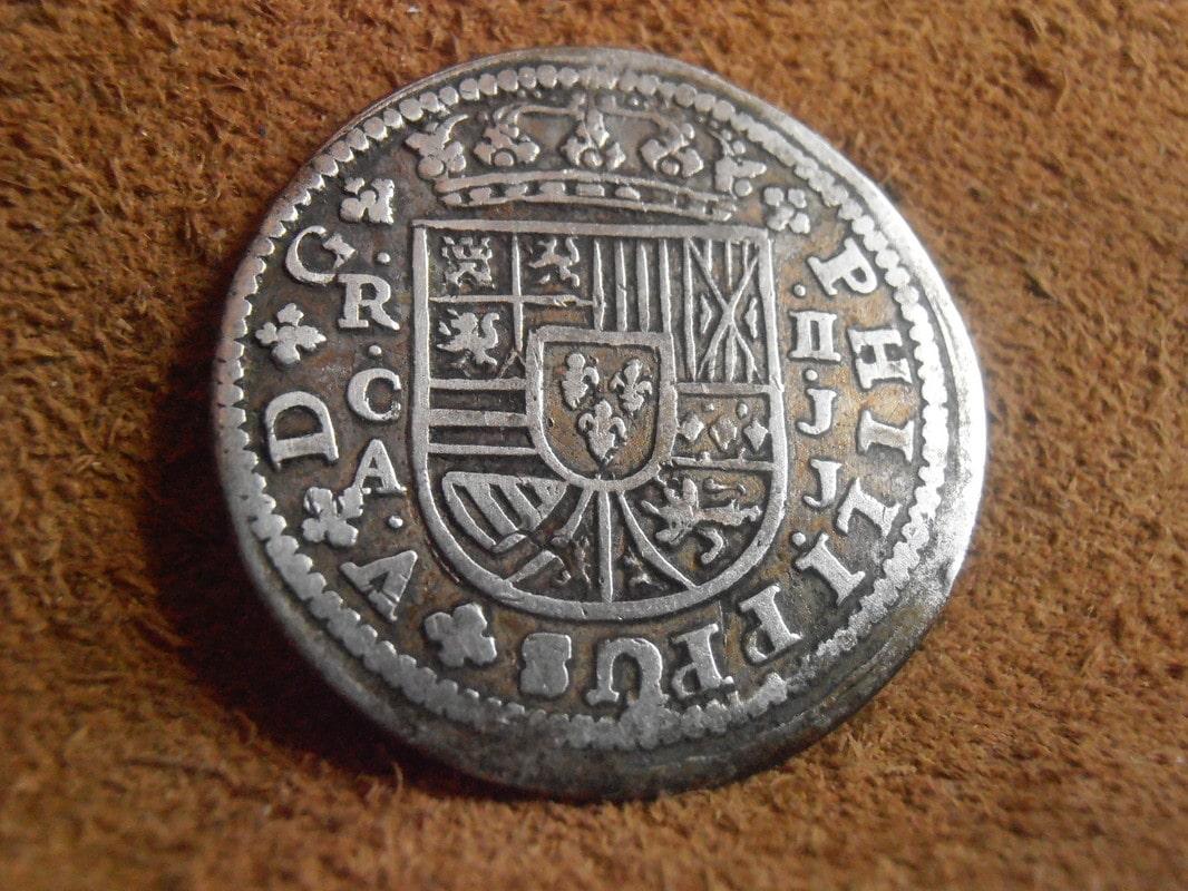 1718 - 2 Reales Felipe V ceca de Cuenca- 1718 P3150002