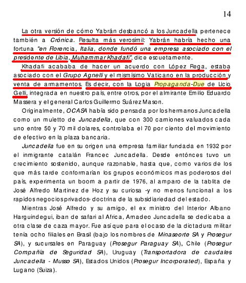 YABRAN TRABAJABA PARA LA LOGIA MASONICA PROPAGANDA DUE DEL GRAN ORIENTE! Dfgdfgh