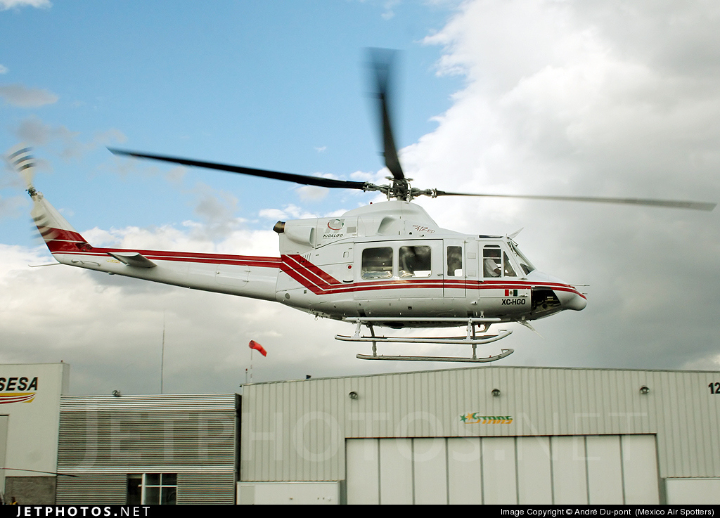 Aeronaves  Matriculas  XC-  ( Por Estados) Hidalgo_Bell_412_EP_XC_HGO_2009