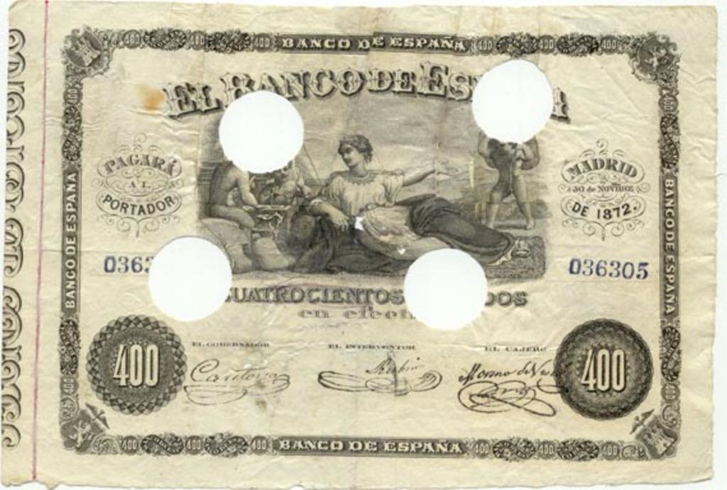 400 Escudos 1872 Spain_PUnl_400escudos_1872_donatedjs_uniface