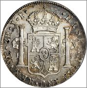 8 reales Carlos IIII 1804 me jp Image