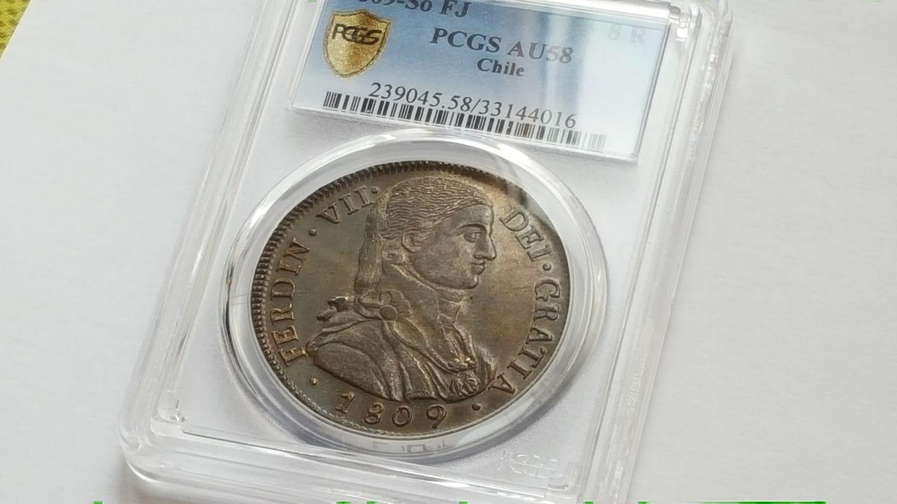 8 reales 1809  Fernando VII  Chile 20160202_143850