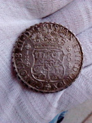 8 reales 1769 Potosí. Carlos lll. Columnario. IMG_20161128_175344