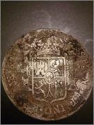 moneda 8 reales carlos iv 1791 falsa? Ariiii