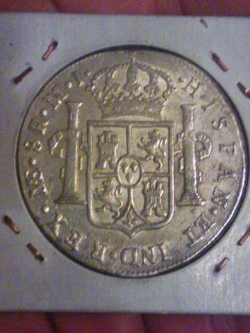 8 reales 1779. Carlos III. Lima. WP_001281