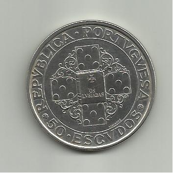 50 Escudos Conmemorativos de las Luisadas 1972 (Portugal) 50_escudos_Luisiadas_Portugal_1972_rever