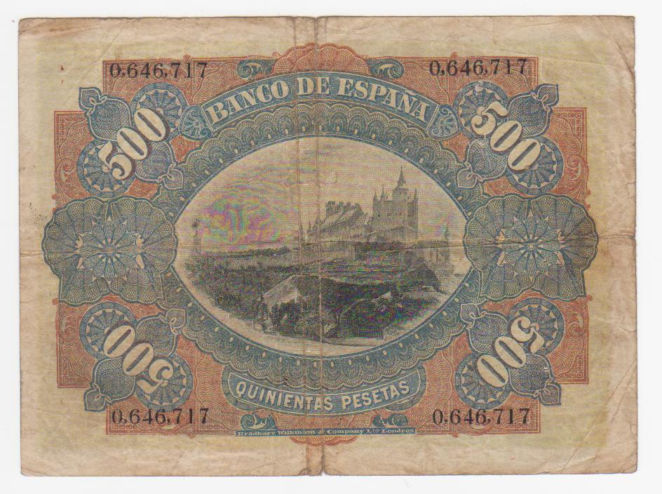 1907 - 500 Pesetas 1907 (julio) 500_pesetas_1907_001