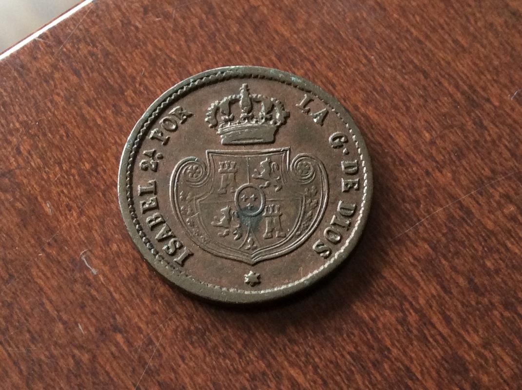 1 Décima Real 1853. Isabel II. Segovia  IMG_3125
