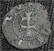Dinero de Fernando II de Aragón 1479-1516 Aragón Vell1_rever