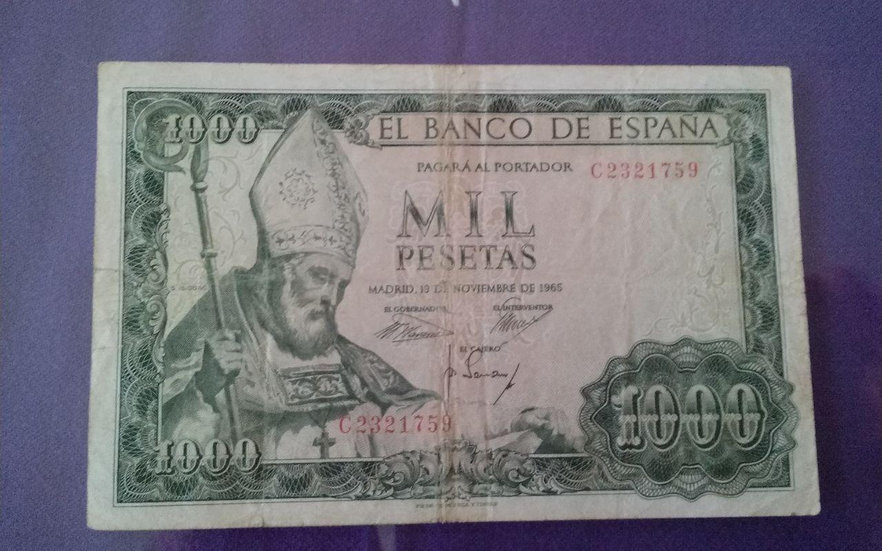 1000 pesetas de 1965 1411056739204