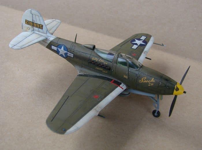 P-39Q Airacobra, 1/72, Academy (rebuild) DSC02938