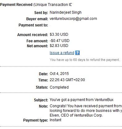 Venturebux - venturebux.com Venturebuxpayment