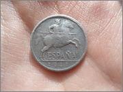 5 centimos 1941. Estado Español. DSC04603