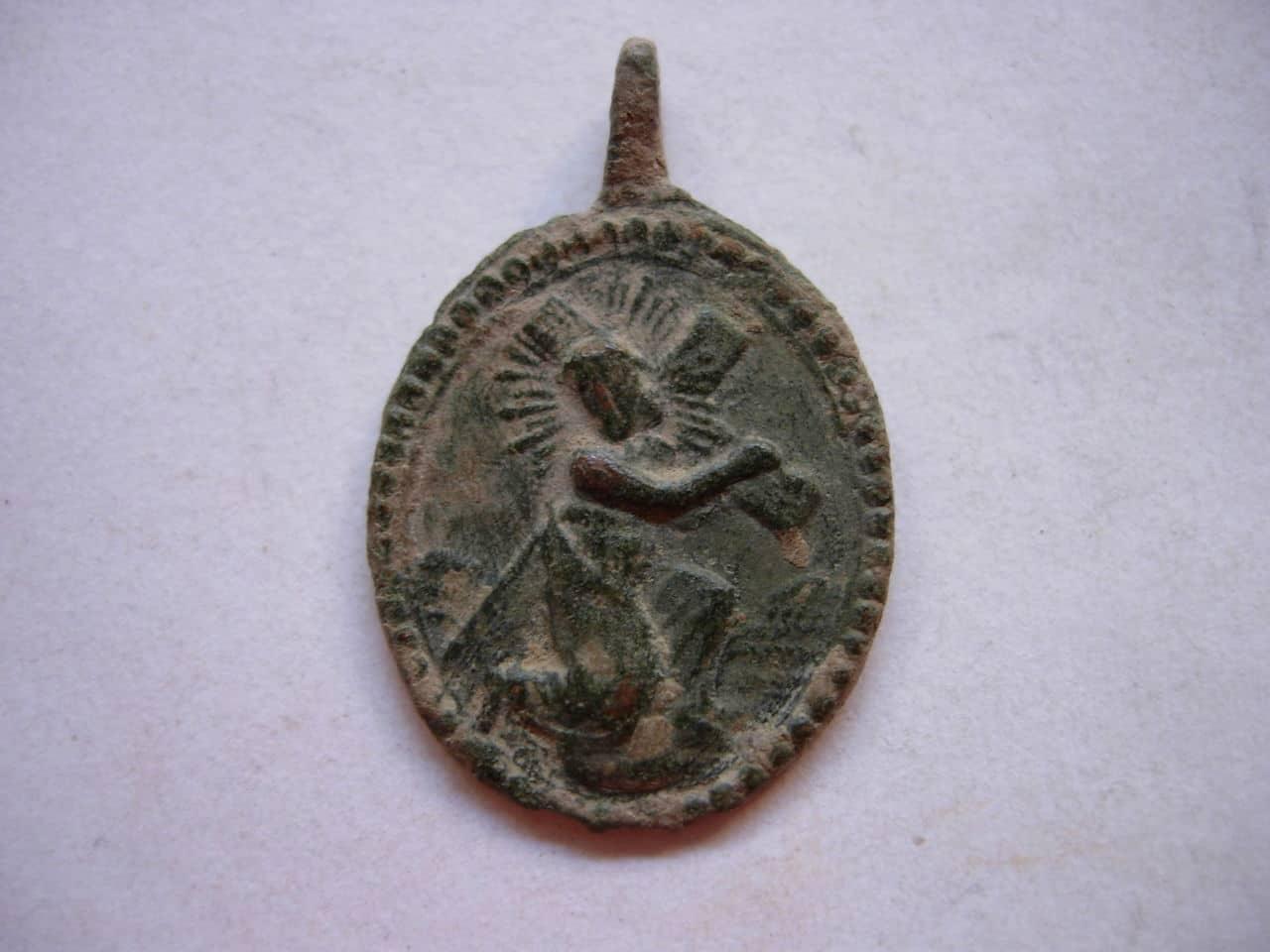 Medalla coronilla servita SXVIII Cuarto Dolor Baj_239
