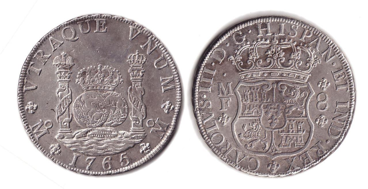 Variante en Columnario de 1765 00062