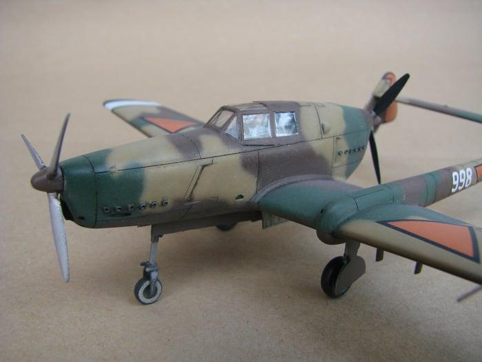 Fokker D-XXIII, RSmodels, 1/72 DSC02917