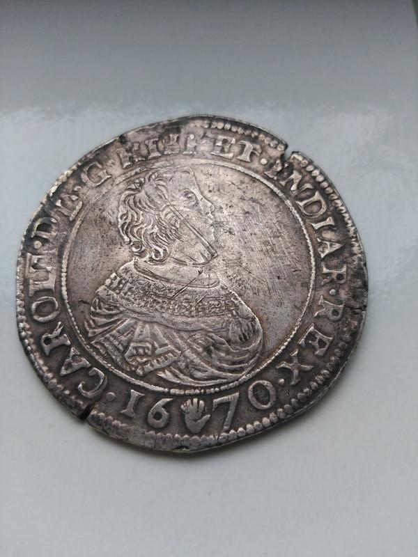 ducaton de carlos II de Amberes  Image