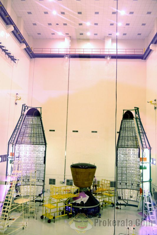 Lancement GSLV Mk-3 / CARE - 18 décembre 2014 (suborbital) Sriharikota_indian_space_research_organisation_2