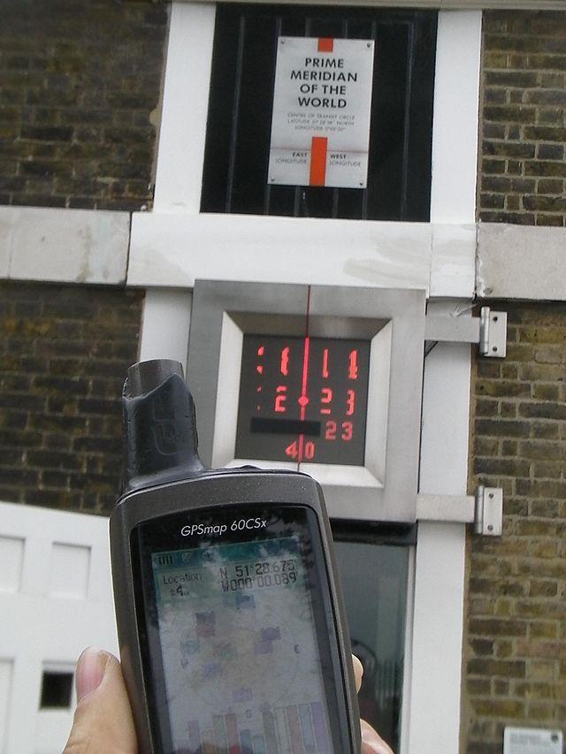 Peskupi brandovi - nabrojte Garmin_GPS_at_Greenwich_Observatory