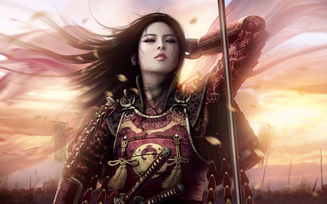 Savany - Okolí Hlavního Města 8844084_samurai_girl