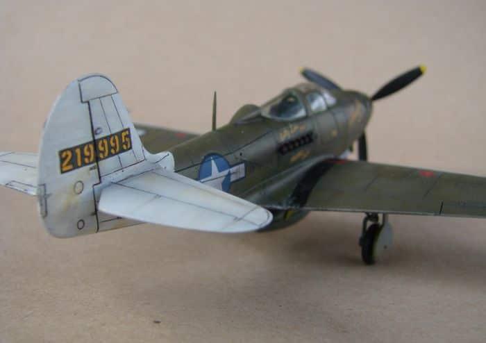 P-39Q Airacobra, 1/72, Academy (rebuild) DSC02940