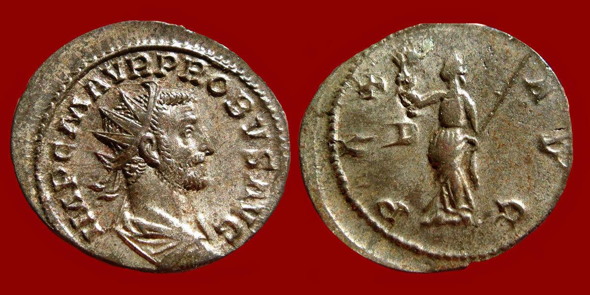 Aureliano (antoniniano) de Probo.  0_0_0_probo2
