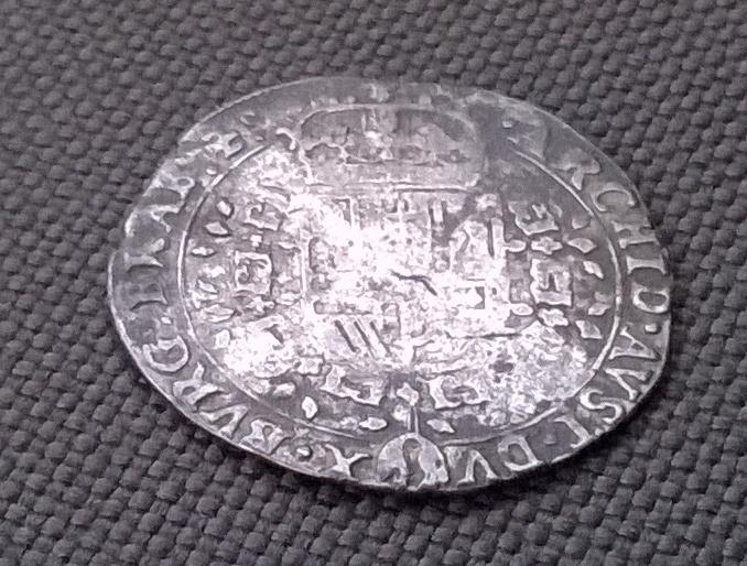 1/4 patagón 1645, Felipe IV, Amberes WP_20160112_041