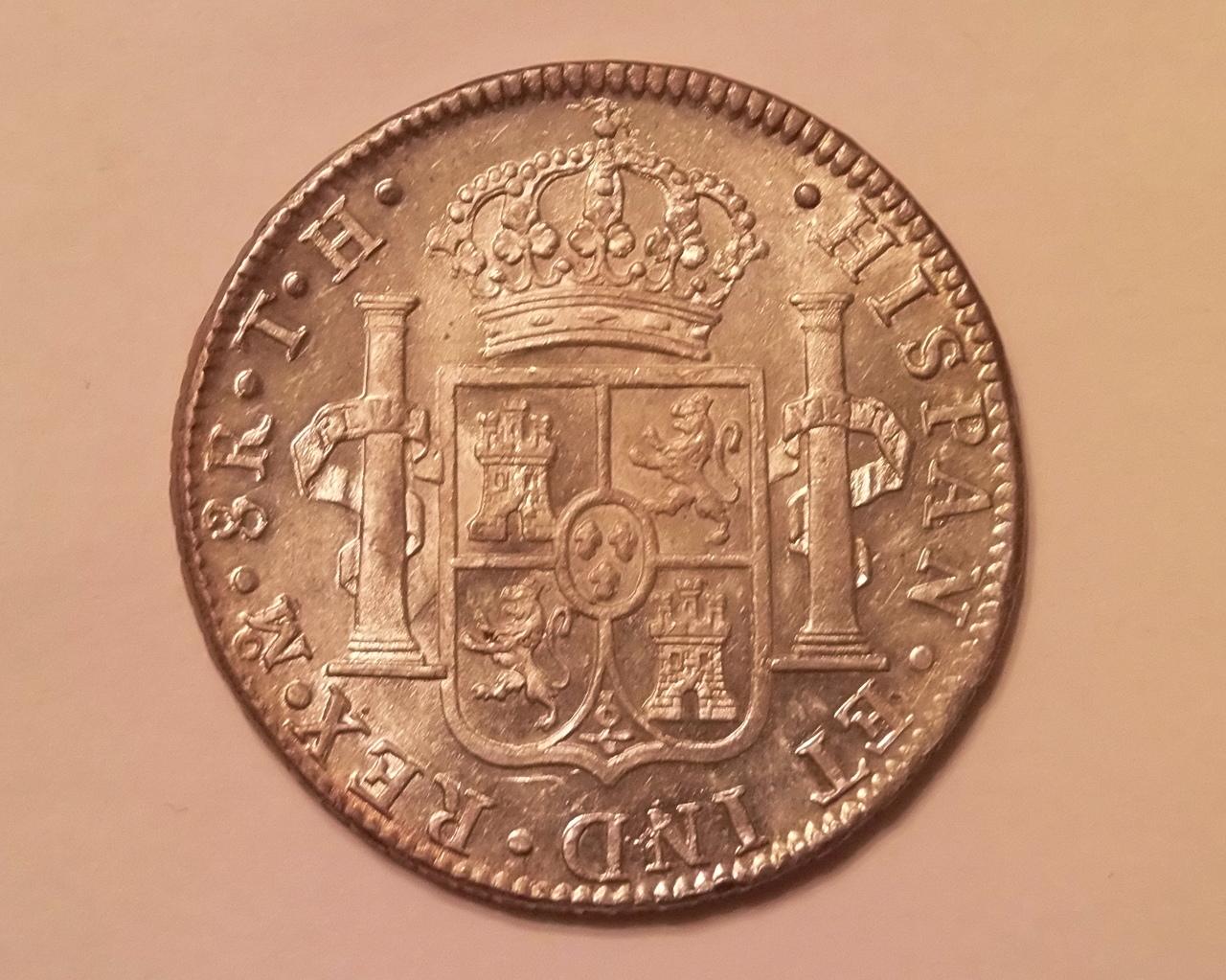 8 reales Carlos IIII 1807 Mexico  Para Emiliano y Lanza P8190531