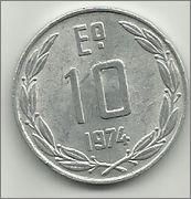 10 Escudos. Chile. 1974. Santiago de Chile 10_escudos_chile_r_1974