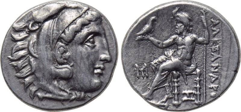 Dracma de Alejandro Magno (Póstumo). Abidos. 310-301 a.C. Untitled