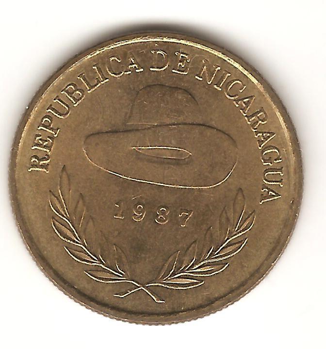 5 Córdoba. Nicaragua. 1987  Image