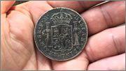 8 reales Carolus IIII,1795 Mejico-FM   Studio_20150407_165511