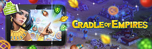 Cradle of Empires is available on the Amazon Appstore, it is fresh from the oven! COEm_android_300